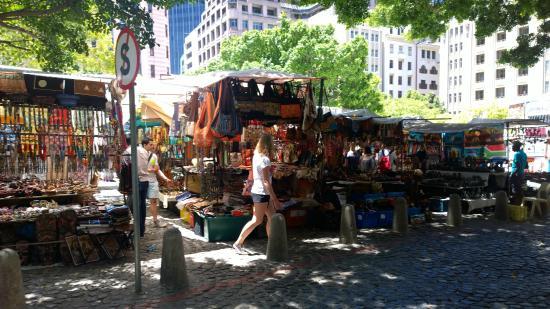 AHA Inn on the Square: Green Market Square market - fun!