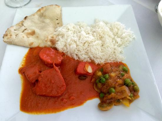 Bengal: Great Butter chicken with mushrooms