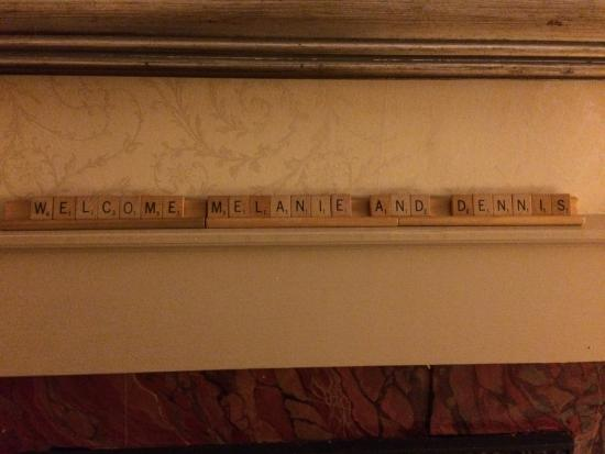 The Lattice Inn: Our welcome