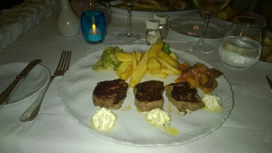 La Scala Restaurant: Carne alla griglia