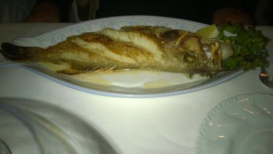 La Scala Restaurant : Pesce alla griglia
