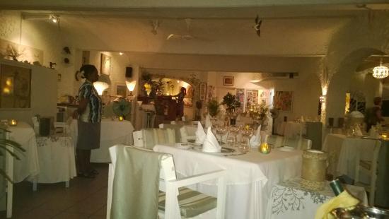 Bel Ombre, Seyşeller: La sala ristorante