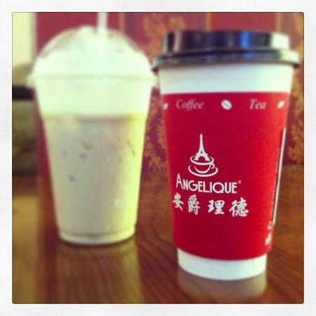 Gulang County, China: Iced and Hot options!