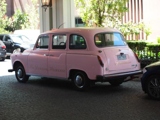 The Langham taxi