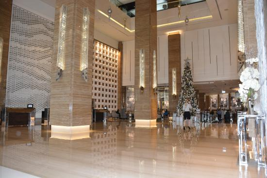 Lobby Picture Of Kempinski Hotel Mall Of The Emirates