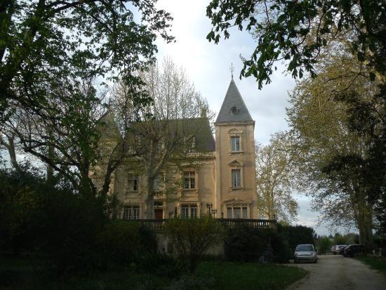château le Martinet : Entrée