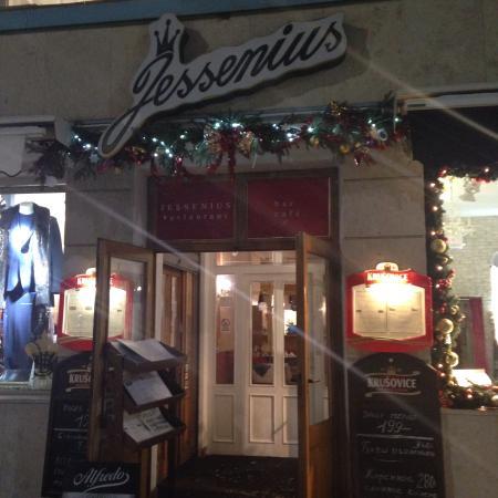 EA Hotel Jessenius: Restaurant Jessenius