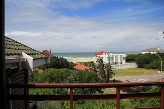 Aston Bay, South Africa: vue de notre chambre/sea view from bedroom