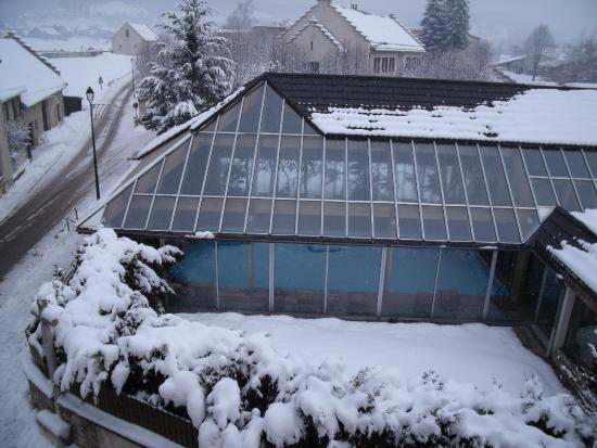 Hotel Restaurant de la Poste: piscine intérieur