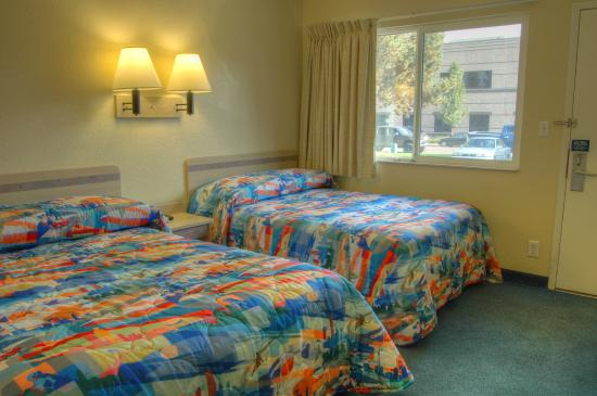 Motel 6 Eugene North - Springfield: Guest Room