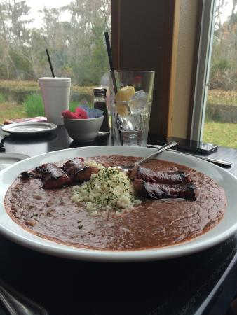 Restaurant des Familles: Red beans and rice