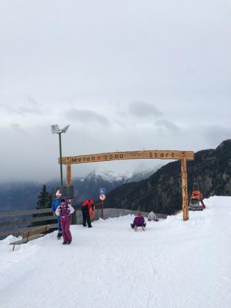 Wander-und Skigebiet Meran 2000: Саночная трасса