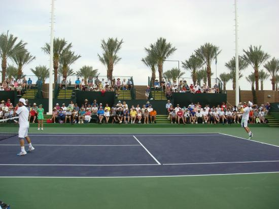 The Stadiums Are Amazing Picture Of Indian Wells Tennis Garden Indian Wells Tripadvisor