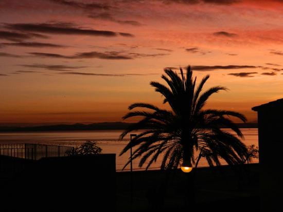 Prestige Coral Platja : coucher du soleil ..vue de la chambre