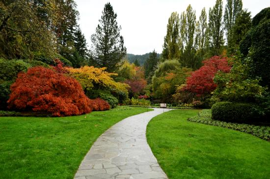 The Butchart Gardens: Cores do Outono