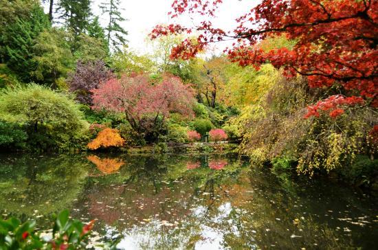 Butchart Gardens: Cores do Outono