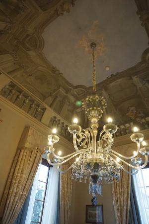 Four Seasons Hotel Firenze: Fresco ceiling in Royal Suite