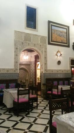 Restaurant Nejjarine : comedor principal