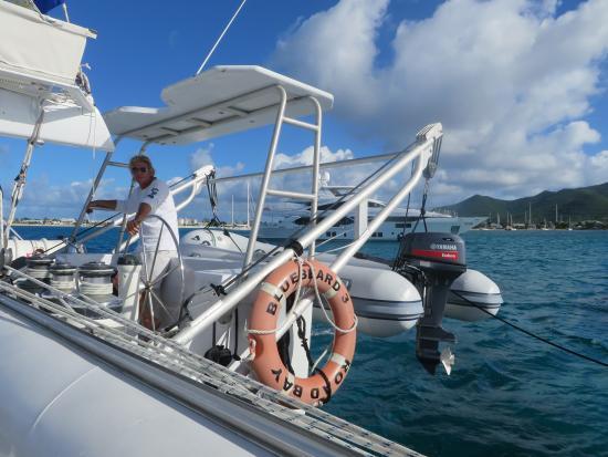 Κόλπος Simpson (Λιμνοθάλασσα), Άγιος Μαρτίνος: The Captain