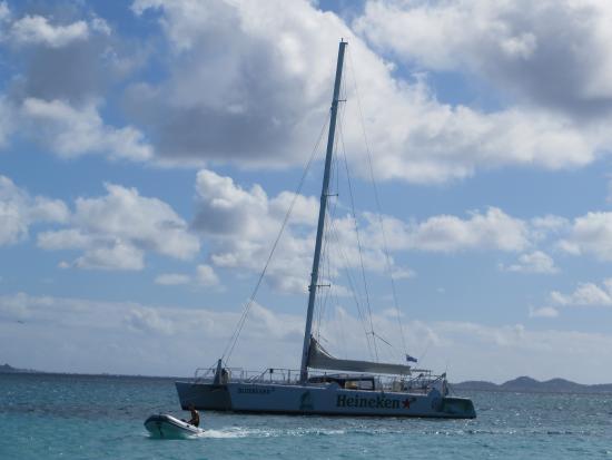 Simpson Bay, St Marteen/St. Martin: Catamaran