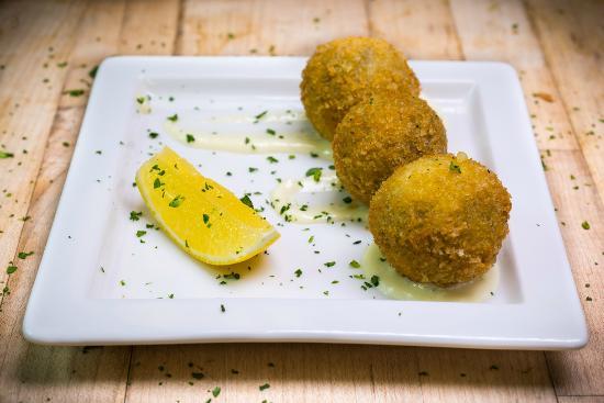The Village Table: Salt Cod Croquetas