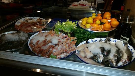 Hotel-Locanda Tabina : ottimo pesce