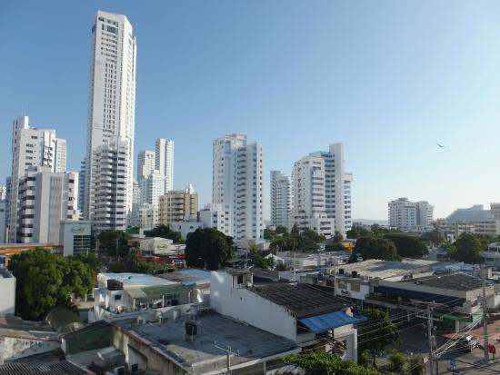 Hotel Barlovento: Vista desde el balcón