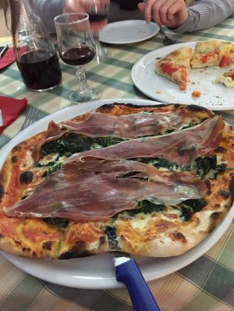 Hostaria Da Italo a Trastevere: Une pizza à tomber !