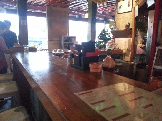 Bar Area at Cafe Iguana