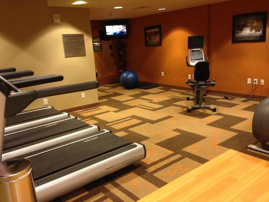 Courtyard Miami Coconut Grove: The gym