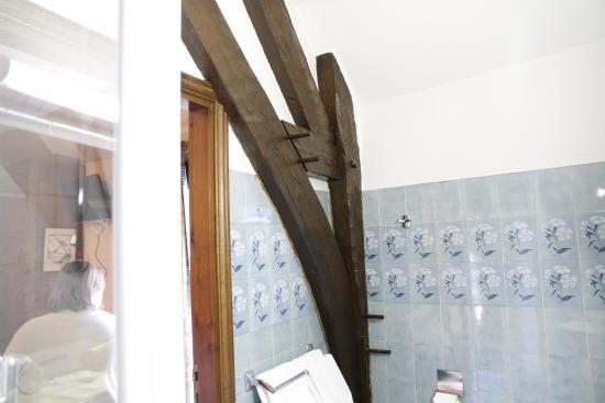 Hôtel La Couleuvrine : Bathroom Detail