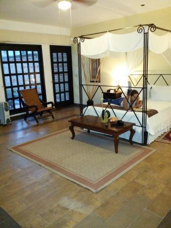 Hacienda La Magdalena Boutique Hotel : Habitación con terraza
