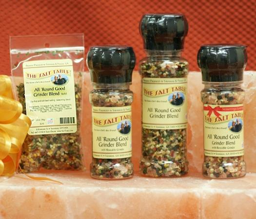 The Salt Table: All Round Good Grinder Blend, The #1 top selling seasoning blend.