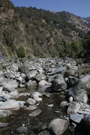 Guna Devi Temple: River Bhated