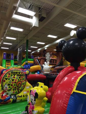 Jump on Over Inflatable Party & Play Center