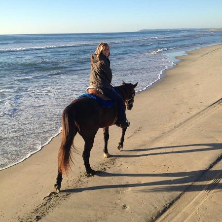Happy Trails - Private Rides: point loma in the distance