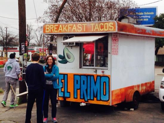 El Primo Taco Stand: Chilly December Morning