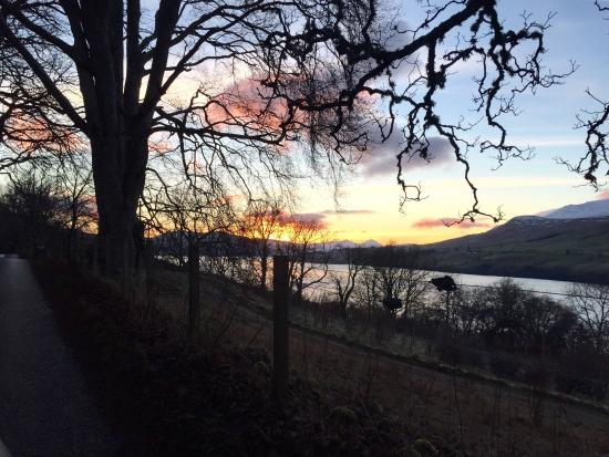 Ardeonaig Hotel: Loch Tay views in the morning.