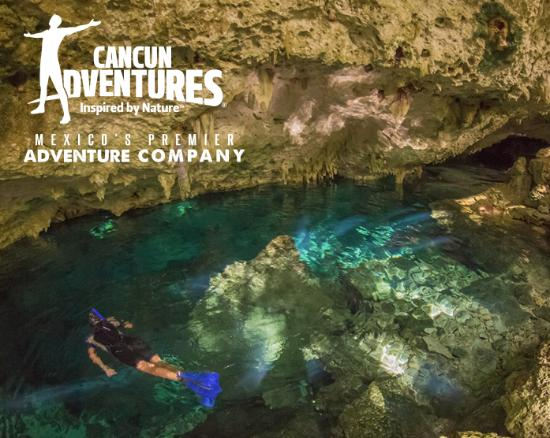 Tulum and Cavern Adventure by Cancun Adventures
