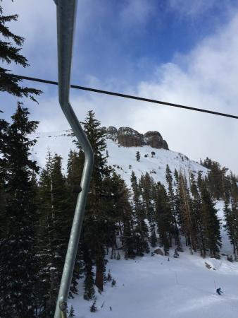 Kirkwood, CA: Vincent Olenik of Reno, NV picture of fun.  So you think you can handle it?