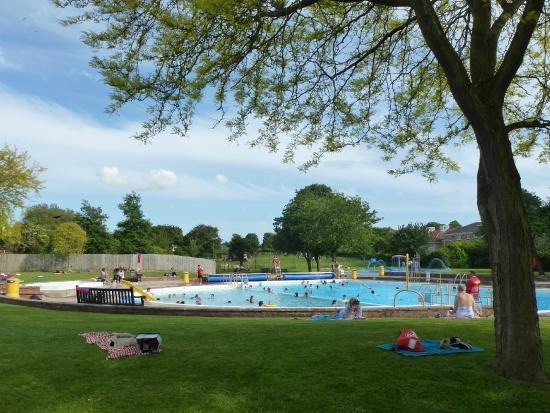 The Main Pool Viewed From The Trees Picture Of Greenbank Pool Street Tripadvisor