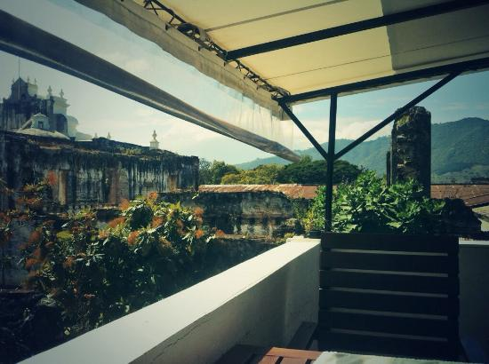 Tartines : View from the terrace