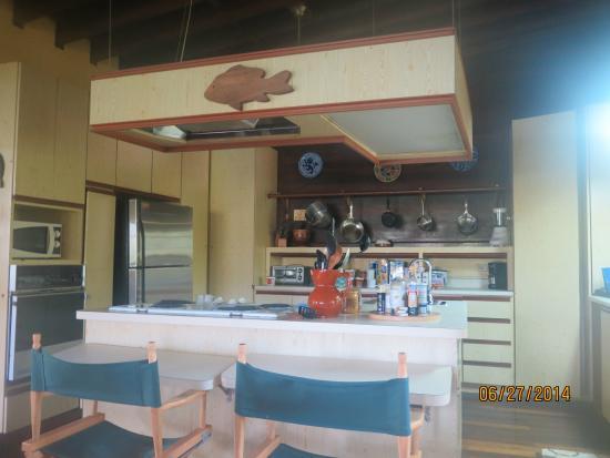 Villa Pelicano: Kitchen area