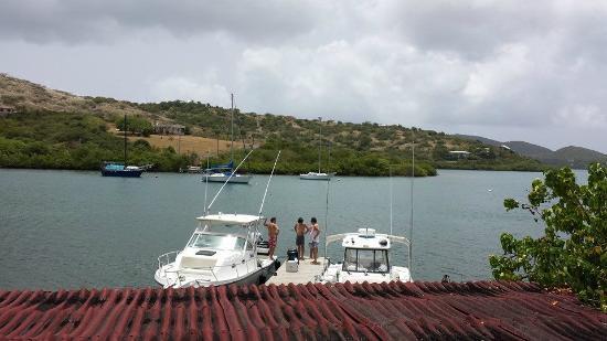 Villa Pelicano: Dock