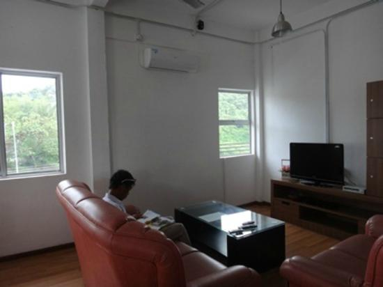 Coco House: Common Living Area