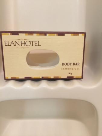 Elan Hotel: Smartest soap in the world....