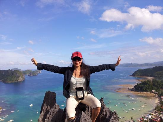 Discover El Nido Travel Tours It S Me My First Ever Time Rock