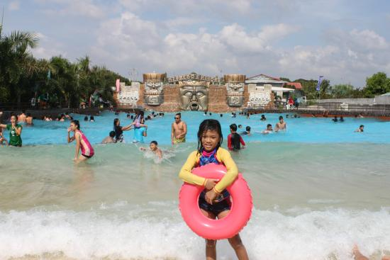 The Large Wave Pool Picture Of Villa Alfredos Resort