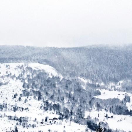 Logis La Bouloie: La vue de la Bouloie pendant l'hiver