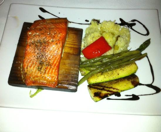 Steveston Seafood House: Planked Cedar Salmon